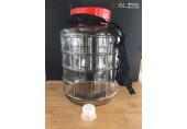 (AMORN) BREWERY JAR 16L. - โหลแก้วขนาดใหญ่ สำหรับบรรจุเครื่องดื่ม พร้อมเชือกหิ้วสีแดง ขนาด 16 ลิตร