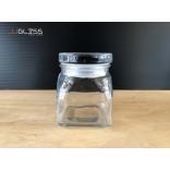 SPICES JAR 130ML. (GLASS CAP) - ขวดแก้วพร้อมฝาแก้วสูญญากาศ เนื้อใส ความจุ 130 มล.