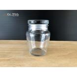SPICES JAR 170ML. (GLASS CAP) - ขวดแก้วพร้อมฝาแก้วสูญญากาศ เนื้อใส ความจุ 170 มล.