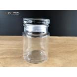 SPICES JAR 200ML. (GLASS CAP) - ขวดแก้วพร้อมฝาแก้วสูญญากาศ เนื้อใส ความจุ 200 มล.
