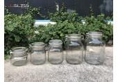 โหลฝาสปริง - โหลแก้ว แฮนด์เมด เนื้อใส ฝาล็อคสูญญากาศ ขนาด 500 - 2,000 มล.