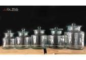 โหลยาดอง ฝาแก้ว ไซส์ใหญ่ - โหลแก้ว แฮนด์เมด เนื้อใส ขนาด 2 ลิตร - 8 ลิตร (2,000 - 8,000 มล.)