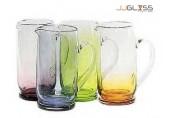 เหยือก 96/26 - เหยือกแก้ว แฮนด์เมด ก้นหนา สี 2.8 ลิตร (2,800 มล.)
